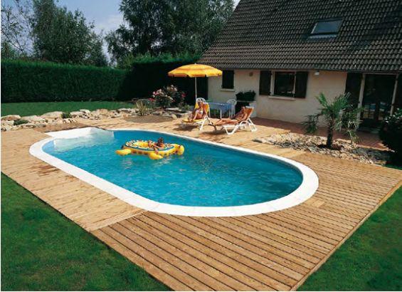 Coperture piscine tutte le offerte cascare a fagiolo - Piccole piscine in casa ...