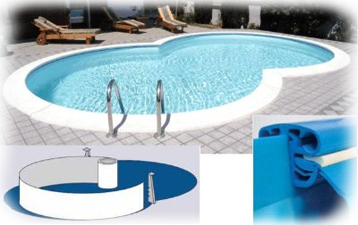 Piscine in acciaio ad otto haway waterline - Piscine interrate in acciaio ...